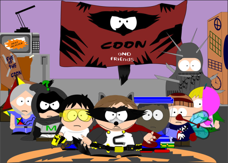 Mysterion and the coon